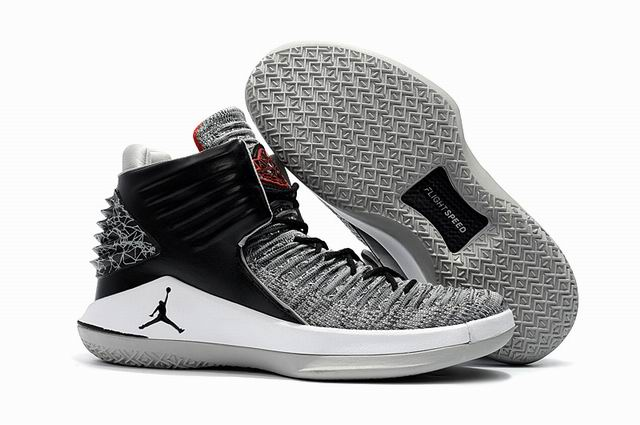 men jordan XXXII high top shoes-001